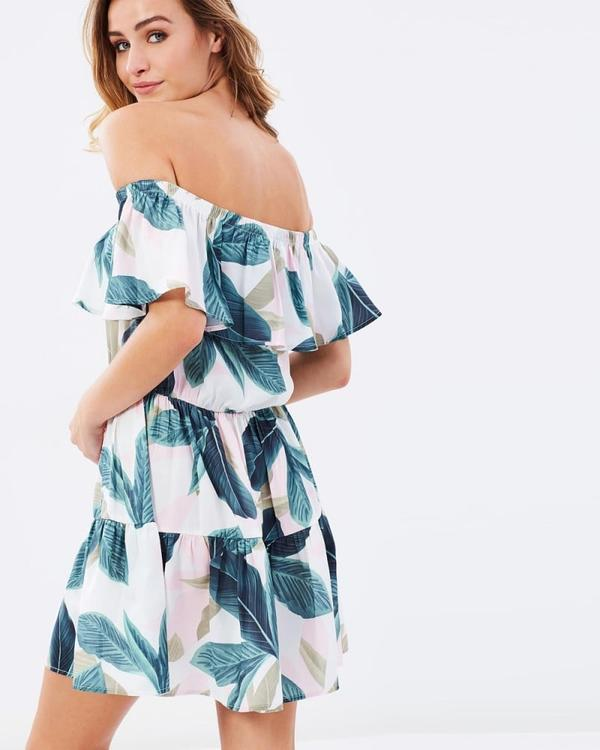 Avalon Off-the-Shoulder Dress