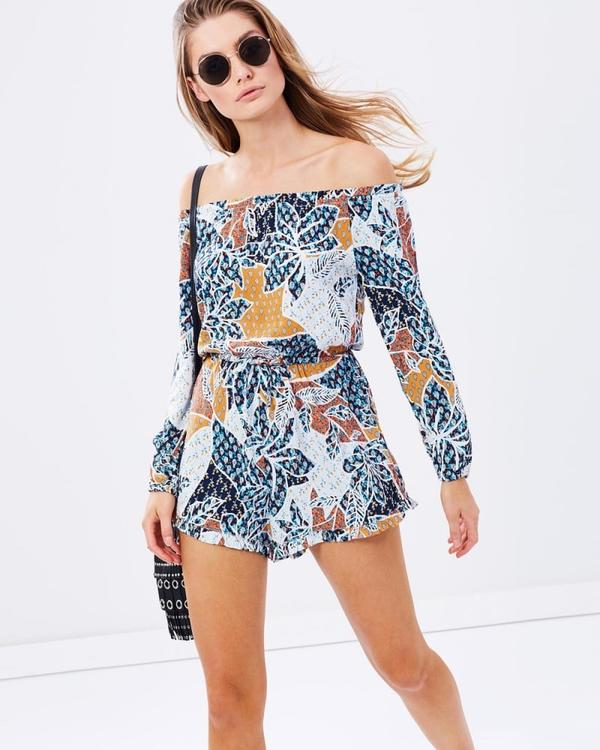 All About Eve Sunset Playsuit