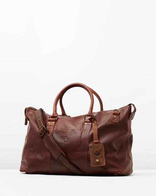 Lyle Vintage Leather Holdall